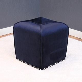 Link to Aalten Velvet Ottoman Similar Items in Living Room Furniture