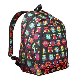 World Traveler Owl 16-Inch Multipurpose Backpack
