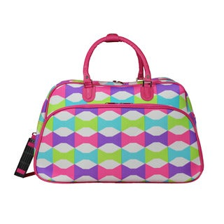 World Traveler Blissful 21-Inch Carry-On Shoulder Tote Duffle Bag