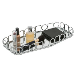 Circles and Squares Vanity Mirror Tray