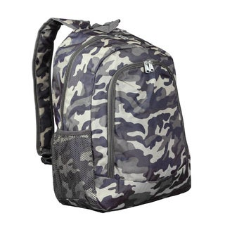 World Traveler Brown Camouflage 16-Inch Multipurpose Backpack