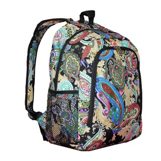 World Traveler Paisley 16-Inch Multipurpose Backpack