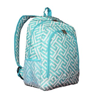 World Traveler Greek Key 16-Inch Multipurpose Backpack