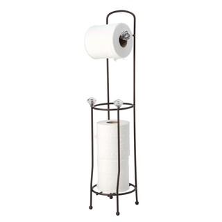 Crystal Toilet Paper Holder and Dispenser