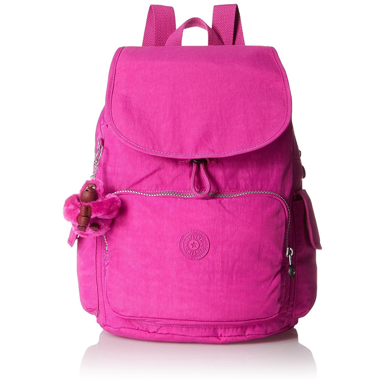 Kipling Ravier Very Berry Medium Backpack (Very Berry), Pink