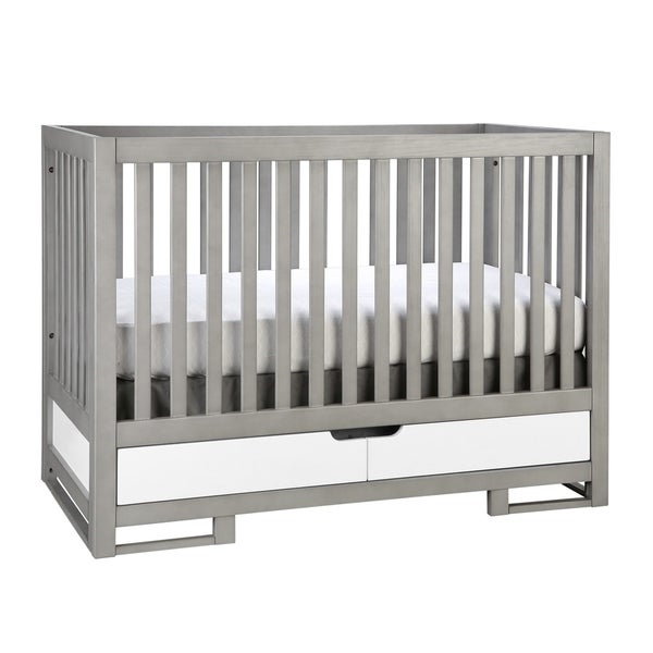 Oslo 2-in-1 Convertible Crib - morning mist