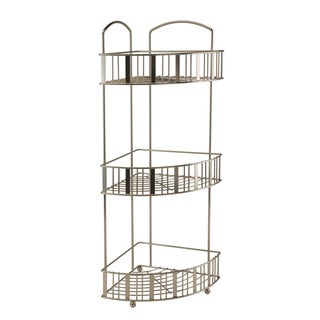 Flat Stripe Wire 3-tier Corner Spa Tower