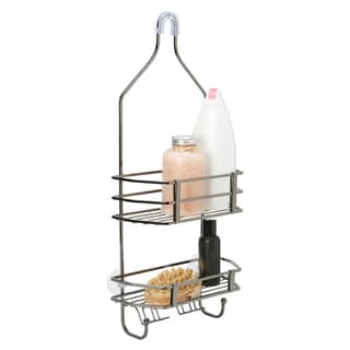 Black Square Wire Shower Caddy