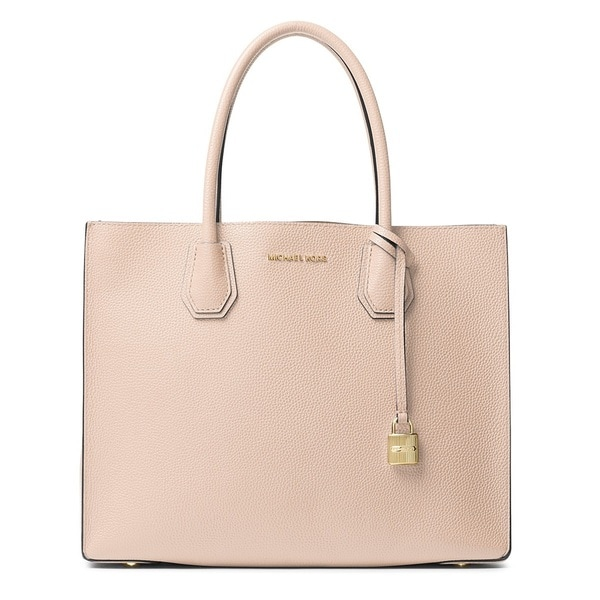 29ff614df245b7 Shop Michael Kors Mercer Large Soft Pink Convertible Tote Bag - Free ...