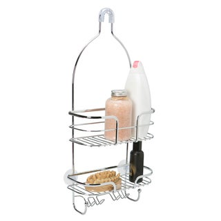 Chrome Oval Wire Shower Caddy