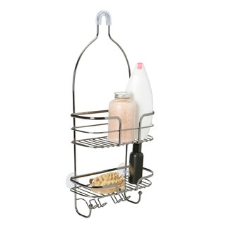 Black Oval Wire Shower Caddy