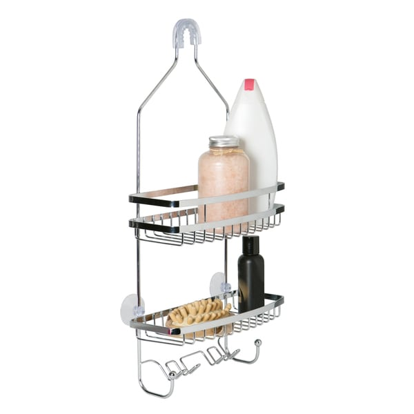 Chrome Flat Wire Shower Caddy - Free Shipping On Orders Over $45 ...