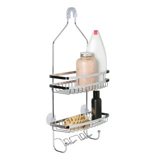 Chrome Flat Wire Shower Caddy