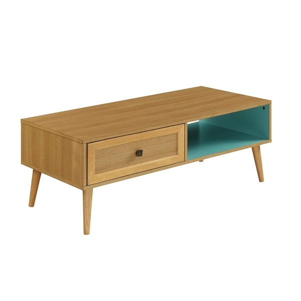 Acme Jayce Natural Finish Wood Coffee Table