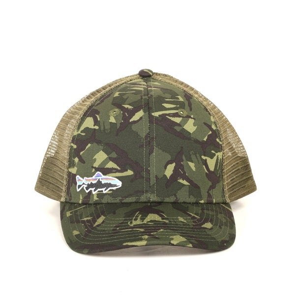 b22974e71cb Shop Patagonia Small Fitz Roy Trout LoPro Trucker Hat - Free ...