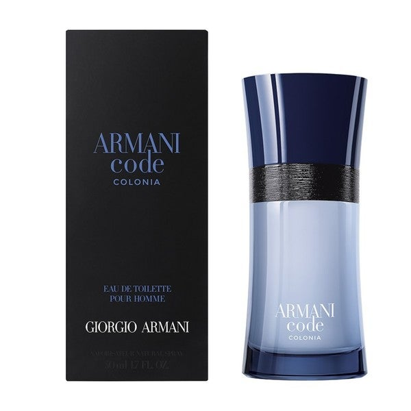 bd72d8c2d8c63 Shop Giorgio Armani Code Colonia Men s 1.7-ounce Eau de Toilette Spray -  Free Shipping Today - Overstock - 18904968