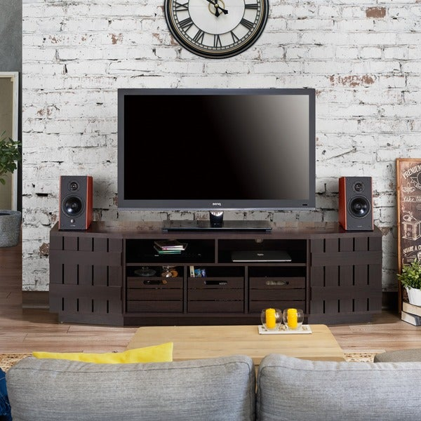 Shop Furniture Of America Harla Rustic 70 Inch Tv Stand With