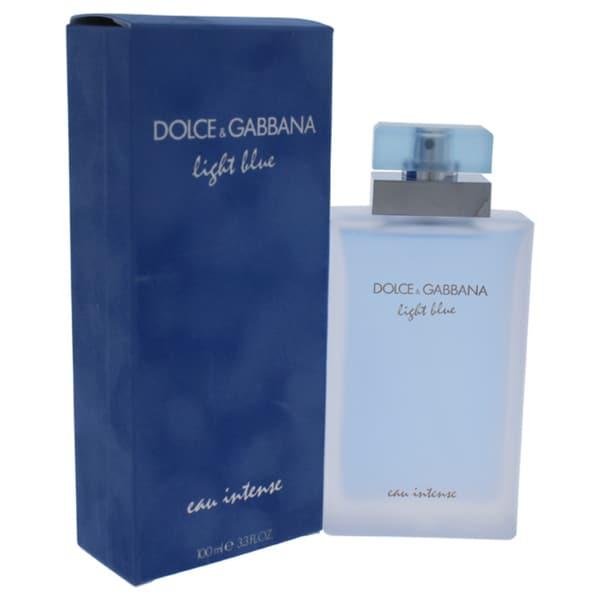 df7478a9 Shop Dolce & Gabbana Light Blue Eau Intense Women's 3.3-ounce Eau de ...