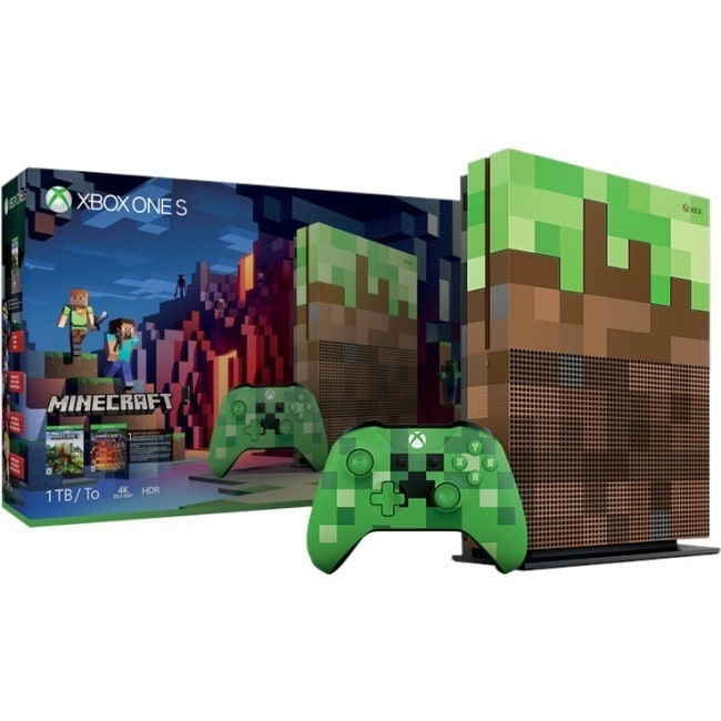 Microsoft Xbox One S Minecraft 1TB, Green #23C-00001