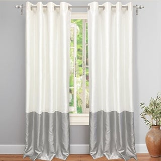 DriftAway Madelynn Solid Color Block-Room Darkening Curtain Panel Pair