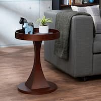 ACME Dinnen End Table in Walnut