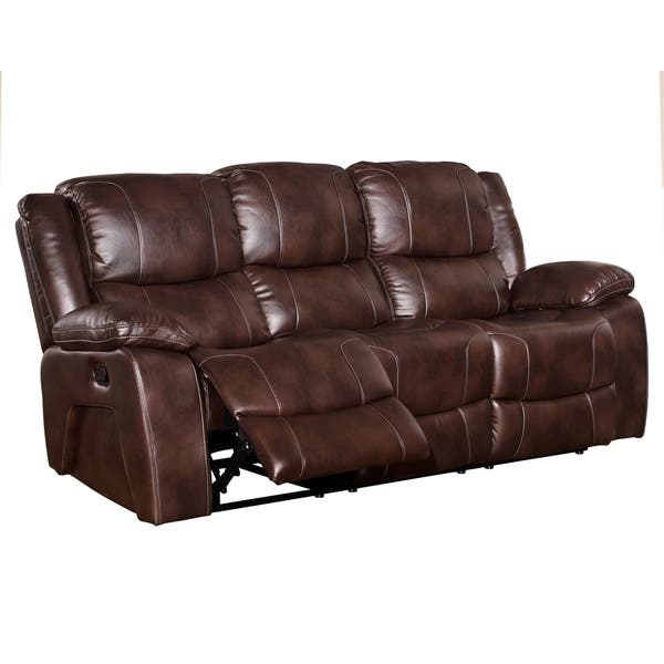 Enjoyable Shop Constantine Dual Recliner Sofa Manual Power Free Pdpeps Interior Chair Design Pdpepsorg