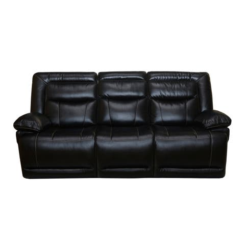 Lucius Dual Recliner Sofa (Manual/ Power)
