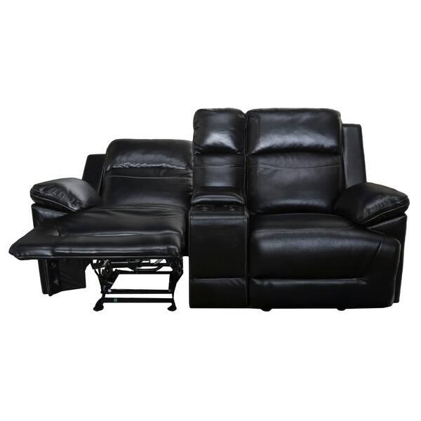 Fantastic Shop Topher Dual Glider Recliner Loveseat With Storage Uwap Interior Chair Design Uwaporg