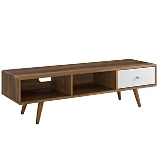 Modway Transmit Brown Wood 55-inch TV Stand