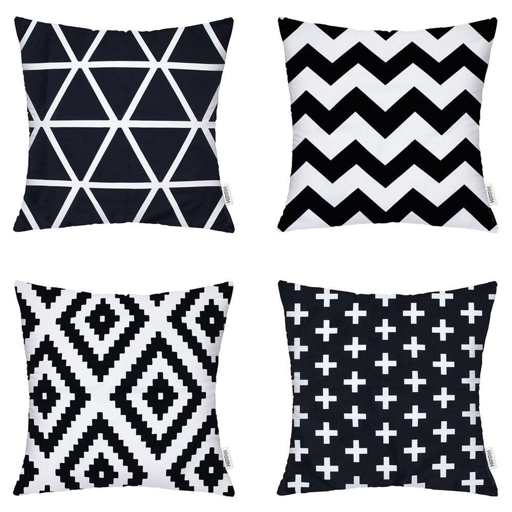 Coach Cotton Linen Pillow Case Plus, Geometry, Triangle, ...
