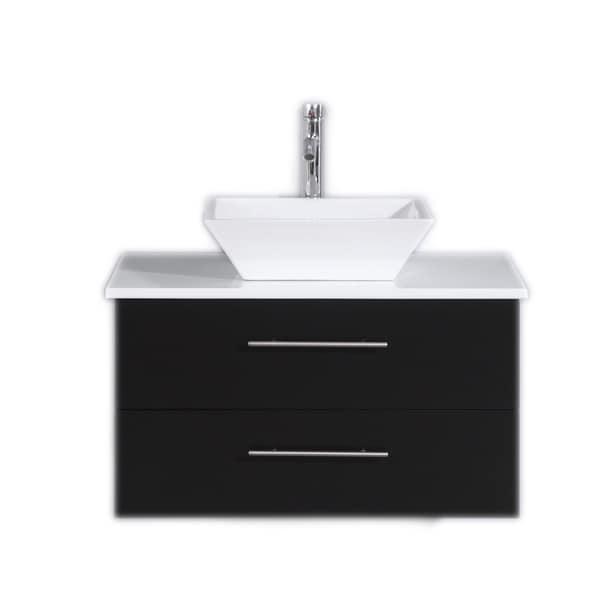Shop Totti Wave 30 Inch Espresso Bathroom Vanity Free