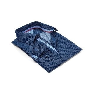 Rosso Milano Modern-Fit Men's Dress Shirt (Option: 20.5)