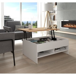 Bestar Small Space 37-inch Lift-Top Storage Coffee Table