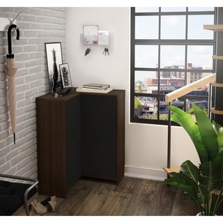 Bestar Laminated Small Space Corner Storage Unit