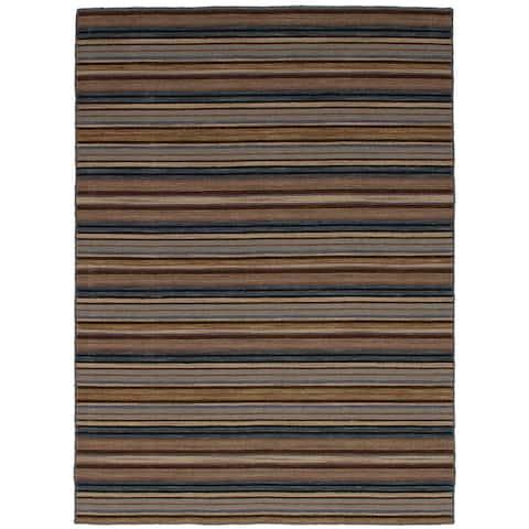 eCarpetGallery Flatweave Manhattan Wool Kilim Rug