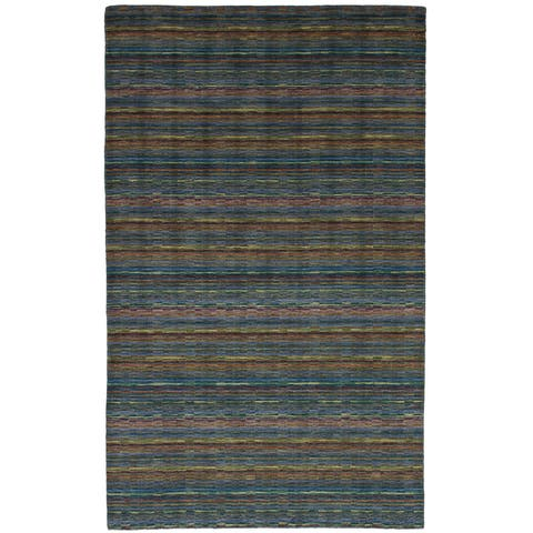 eCarpetGallery Hand-Knotted Luribaft Gabbeh Riz Wool Rug