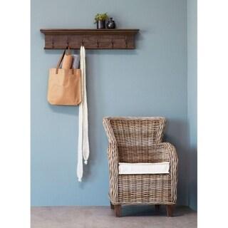 Nova Solo - Six - Hook coat rack Teak Wood