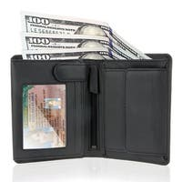 Visconti Thin RFID Multi Card Compact Leather Wallet (9 Cards + 3 ID + Coin slot)