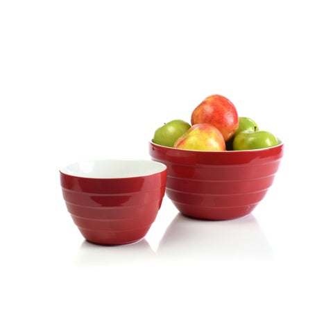 Cherry Bowl Large Red