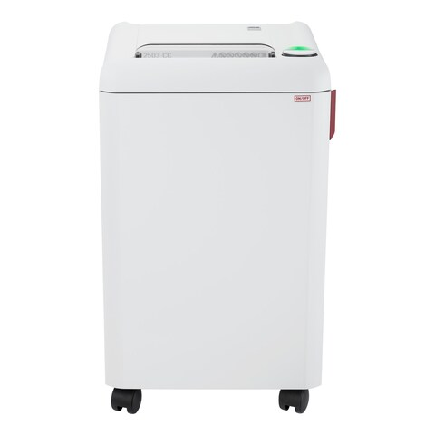 ideal. 2503 Cross-Cut Centralized Office Shredder, P-4 Security Level