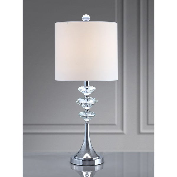 BRILLANTE Diamond Cut Crystals Table Lamp