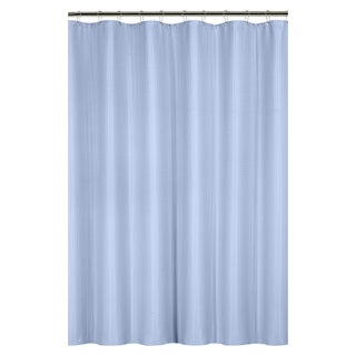 Waffle Weave Shower Curtain with Metal Grommets