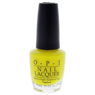 OPI Nail Lacquer NL BB8 No Faux Yellow