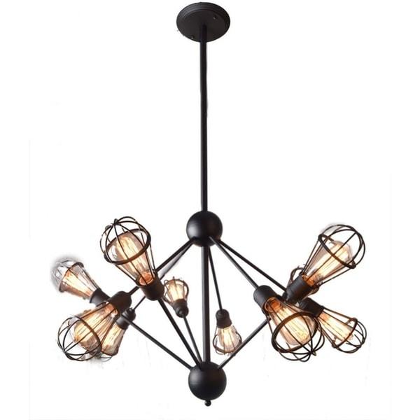 Shop CDI Furniture Revit Collection 10-Bulbs Pendant Metal
