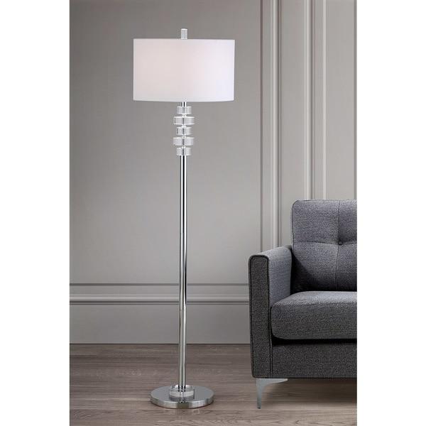 VERONA Crystal Floor Lamp. Opens flyout.