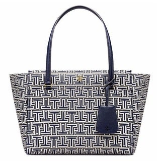 Tory Burch Parker Geo-T Small Tote Bag