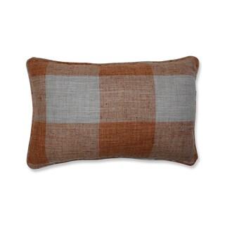 Pillow Perfect Indoor Check Please Koi Orange Throw Pillow