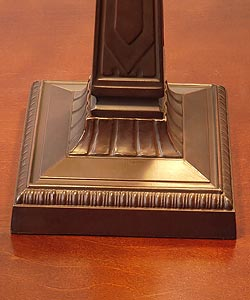 Tiffany-style Mission-style Table Lamp - Thumbnail 1