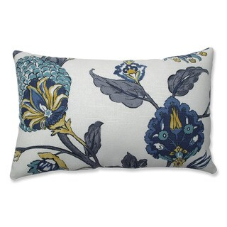 Pillow Perfect Indoor Auretta Peacock Gray Throw Pillow