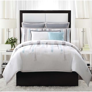 Vince Camuto Sorrento Brushstroke 3-piece Duvet Cover Set